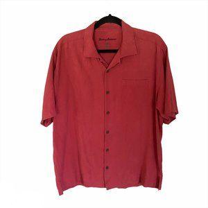 Tommy Bahama 100% Silk Shirt, Size Large